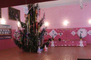 Новогодняя  ёлка  в  Пятовском  СДК